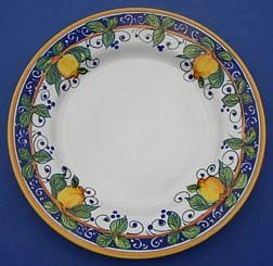 Limone Dinner Plate