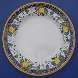 Limone Round Serving Plate - Medium